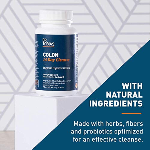 Dr. Tobias Colon 14 Day Cleanse, Supports Healthy Bowel