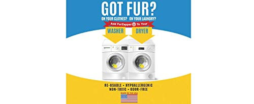 FurZapper Double Pack Pet Hair Remover for Your Laundry