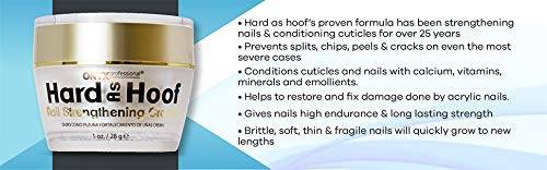 Hard As Hoof Nail Strengthening Cream with Coconut Scent