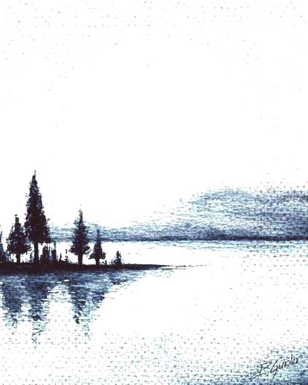Landscape Painting Ideas To Try - Cartoon DistrictYou can find Aquarelle painting easy and more on