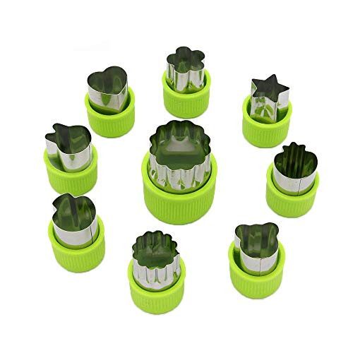 LENK Vegetable Cutter Shapes Set,Mini Pie,Fruit and Cookie